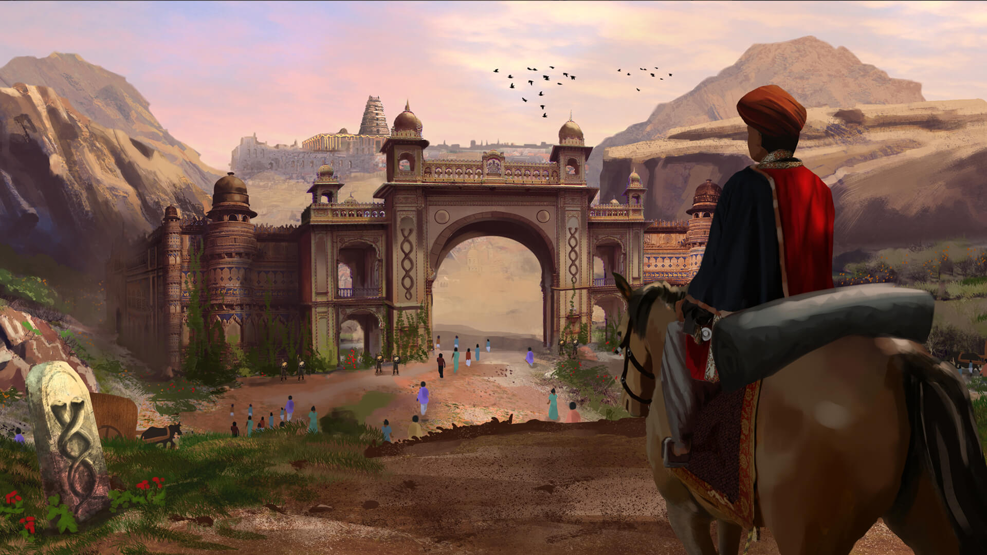 srushti creative, matte painting, animation, 3d, visual effects