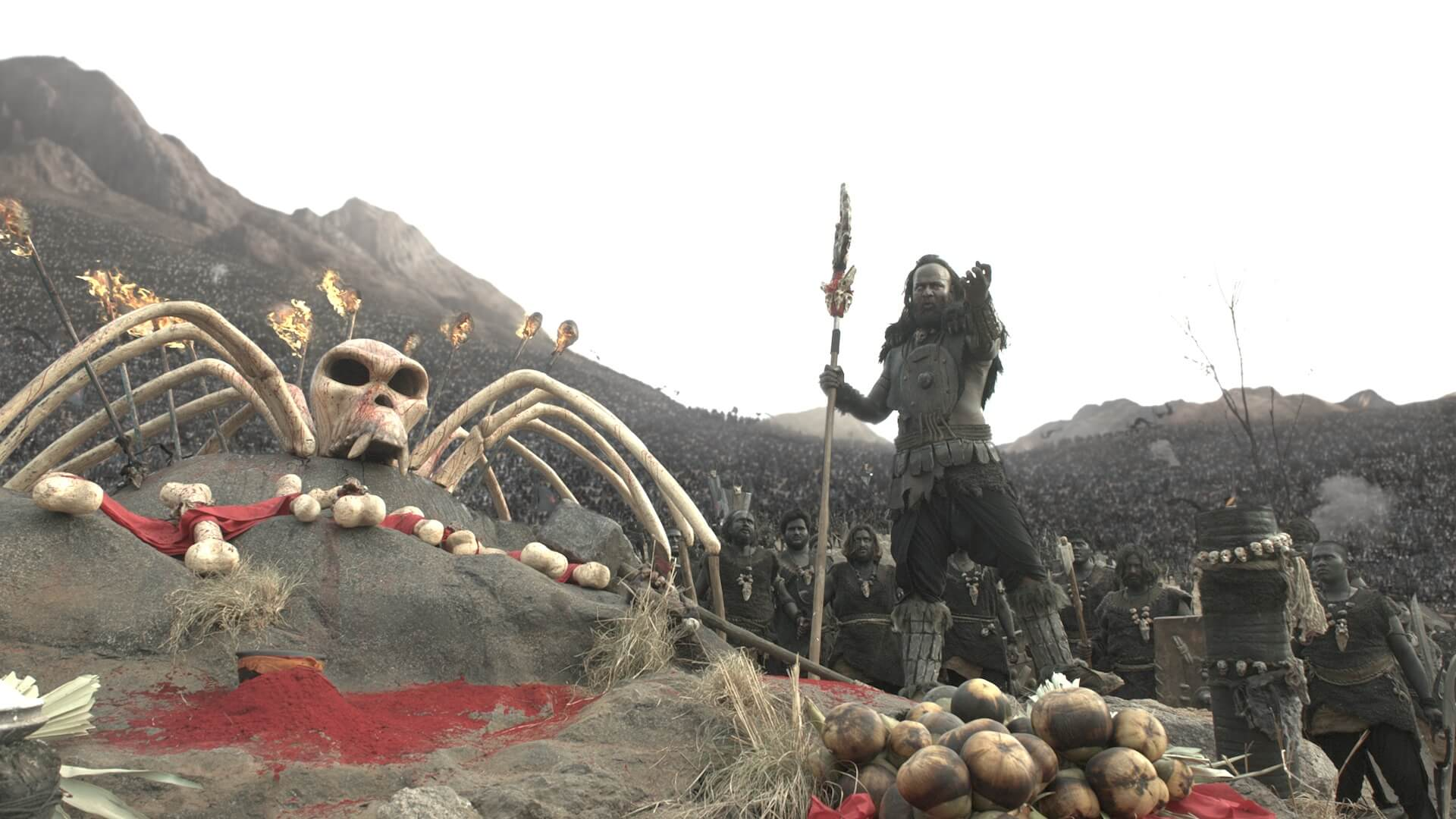 srushti creative, animation, compositing, 3d, war sequence,