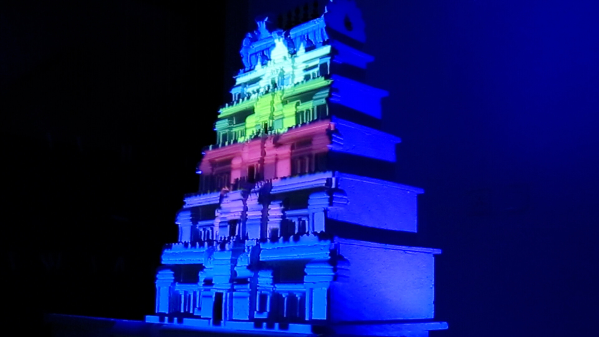 Projection mapping, video mapping, immersive experience, srushti creative